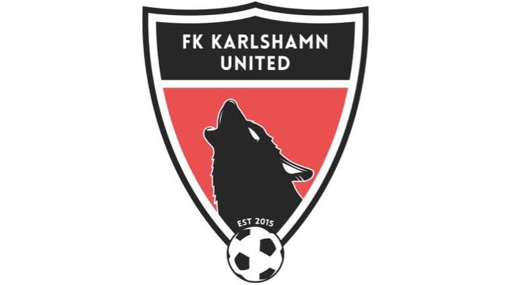 FK Karlshamn United Herr emblem