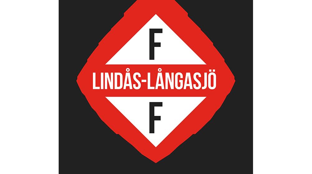 Lindås-Långasjö FF A-lag emblem